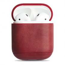 KRUSELL SUNNE AIRPOD CASE (VINTAGE RED)-1