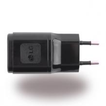 LG - MCS-04ER - Mains Charger/ Travel Charger - USB - Black-1