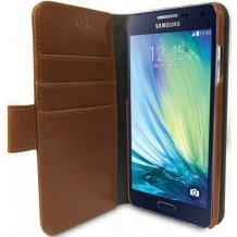 MELKCO WALLETCASE SAMSUNG GALAXY A5 (2015) BROWN-1