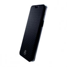 Mercedes Benz - Dynamic - Carbon Book Case - Samsung G960F Galaxy S9 - Black-1