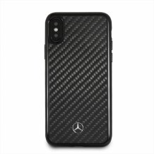 Mercedes Benz - Real Carbon Hard Cover - Apple iPhone XR - Black-1
