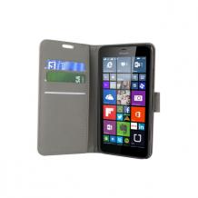 Microsoft Lumia 640 flipcover Redneck Prima Wallet Folio Pink / lyserød-1