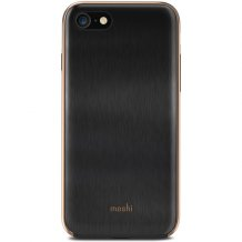 Moshi iGlaze for iPhone 8/7 Armour Black-1