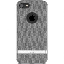 Moshi Vesta for iPhone 8/7 Herringbone Gray-1
