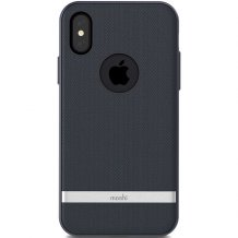 Moshi Vesta for iPhone X/XS - Blue-1