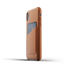 Mujjo Full Leather Wallet Case for iPhone XR-1