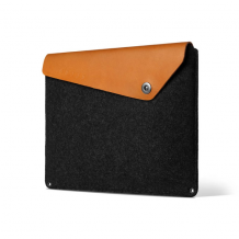 "Mujjo Sleeve 13""- Premium sleeve for New MacBook Pro 13"" with details of genuine leather-1"