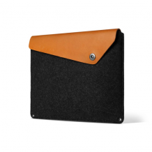 "Mujjo Sleeve 15"" - Premium sleeve for the new Macbook Pro 15"" with details of genuine leather-1"