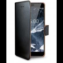 Nokia 5 flipcover Celly Wally Case - Sort-1