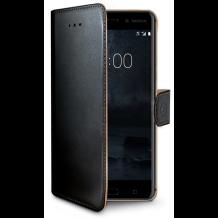 Nokia 6 flipcover Celly Wally Case - Sort-1