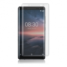 Nokia 8 Sirocco, Curved Glass, Transparent-1