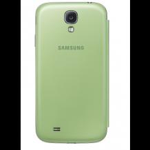 Originalt Samsung Galaxy S4 Flip Cover - Lime Green-1