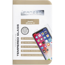 Panserglas til Apple iPhone X/XS, Panzer Tempered Glass-1
