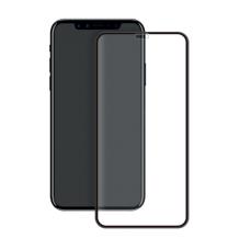 Panserglas til Apple iPhone XR - Eiger 3D Glass Gennemsigtig, Sort-1