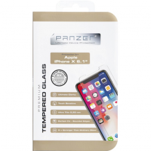 Panserglas til Apple iPhone XR, Panzer Tempered Glass-1