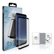 Panserglas til Samsung Galaxy S8+ - Eiger 3D Glass Gennemsigtig, Sort-1