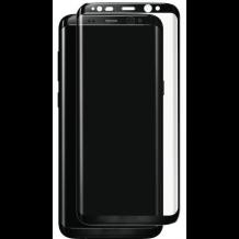 Panserglas til Samsung Galaxy S8 Skærmbeskytter Sort Ramme-1
