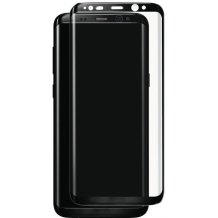 Panserglas til Samsung Galaxy S8+ (Plus) Skærmbeskytter Sort Ramme