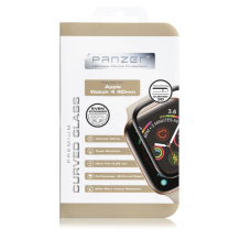 Panzer Curved Silicate Glass Til Apple Watch 4 40mm, , sort-1