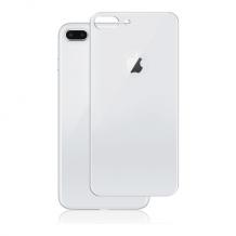 Panzer Full Fit silikatglas bagside til iPhone 8 Plus Sølv-1