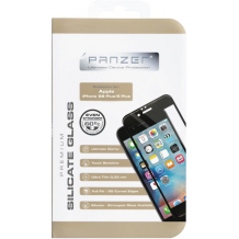 Panzer Full Fit silikatglas skærmbeskytter iPhone 6/6S Plus Sort-1