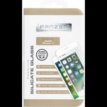Panzer Full Fit silikatglas skærmbeskytter iPhone 7 Hvid-1