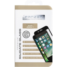 Panzer Full Fit silikatglas skærmbeskytter iPhone 7 Sort-1