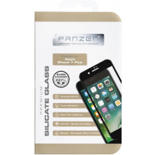 Panzer Full Fit silikatglas skærmbeskytter iPhone 8 Plus / 7 Plus Sort-1