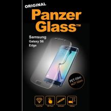 Panzer Glass PET-film (ikke sikkerhedsglas) til Samsung Galaxy S6 Edge-1