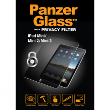 Panzer Glass Sikkerhedsglas Apple iPad Mini 1/2/3 med Privacy Filter-1