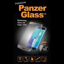 Panzer Glass Sikkerhedsglas med buet ramme til Samsung Galaxy S6 Edge+ (Plus), Clear-1