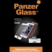 Panzer Glass Sikkerhedsglas Premium iPhone 6/6S Hvid med Rosegold cover-1
