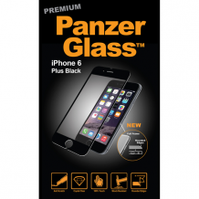 Panzer glass Sikkerhedsglas Premium iPhone 6/6S Plus med Sort Ramme-1
