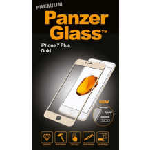 Panzer Glass Sikkerhedsglas Premium iPhone 6 Plus / 7 Plus / 8 Plus, Guld-1