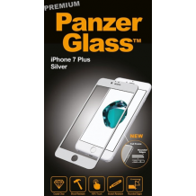 Panzer Glass Sikkerhedsglas Premium iPhone 7 Plus Sølv-1