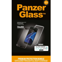 Panzer Glass Sikkerhedsglas Premium Samsung Galaxy S7 Sort med clear cover-1