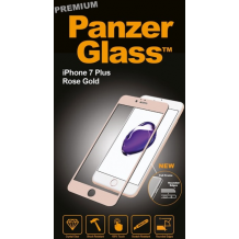 Panzer Glass Sikkerhedsglas Premium til iPhone 7 Plus Rosegold-1