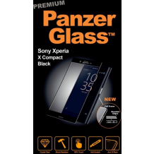 Panzer Glass Sikkerhedsglas Premium til Sony Xperia X Compact Sort-1