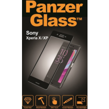 Panzer Glass Sikkerhedsglas Sony Xperia X Sort-1
