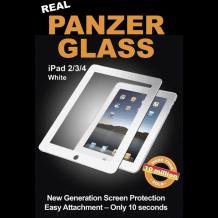 Panzer Glass Sikkerhedsglas til iPad 2/3/4 Retina med Hvid Ramme-1