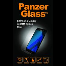 Panzer Glass Sikkerhedsglas til Samsung Galaxy A3 (2017) Clear Fuld skærm Case Friendly-1