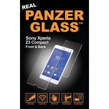 Panzer Glass Sikkerhedsglas til Sony Xperia Z3 Compact front + bagside-1