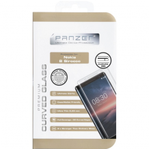 Panzer panserglas Nokia 8 Sirocco, Full-Fit Case-Friendly-1
