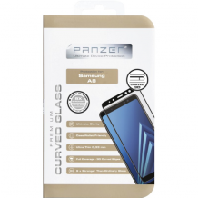 Panzer panserglas Samsung Galaxy A8 (2018), Full-fit Case-Friendly-1