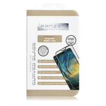 Panzer Tempered Glass Huawei P20 Lite, Curved Glass, Black-1