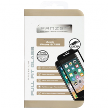 Panzer Tempered Glass til Apple iPhone 6/6S/7/8 - Full-fit Sort-1