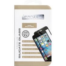 Panzer Tempered Glass til Apple iPhone 6/6S - Full-fit Sort-1