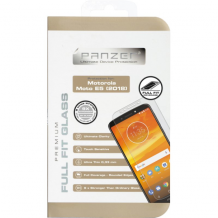 Panzer Tempered Glass til Motorola Moto E5 - Full-fit Gennemsigtig-1