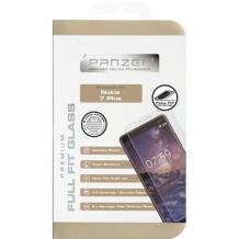 Panzer Tempered Glass til Nokia 7+ - Full-fit Gennemsigtig-1