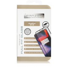 Panzer Tempered Glass Til OnePlus 6, Full-Fit - Sort-1